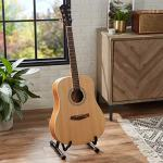 AmazonBasics Beginner Acoustic Guitar with Strings, Picks, Tuner, Strap, and Case – 41-Inch, Spruce and Okoume 1