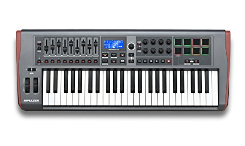 Novation Impulse USB Midi Controller Keyboard, 49 Keys
