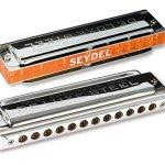 SEYDEL Chromatic DeLuxe Steel Solo Harmonica G 1