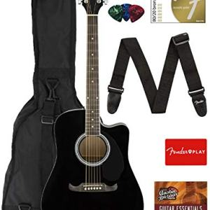 Fender Dreadnought Cutaway Acoustic-Electric Guitar