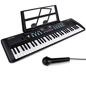 61 Keys Keyboard Piano, Electronic Digital Piano with Built-In Speaker