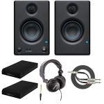 Presonus Eris-E3.5 Studio Monitors (Pair) with Full-Sized Headphones