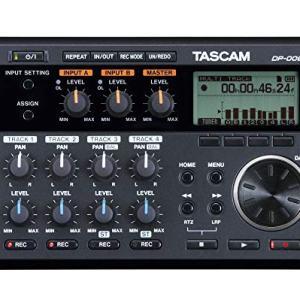 Tascam 6-Track Digital Pocketstudio Multi-Track Audio Recorder