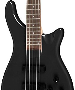 Rogue 5-String Series III Electric Bass Guitar Pearl Black