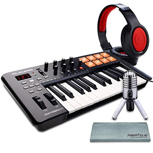 M-Audio Oxygen 25 MK IV USB Pad/MIDI Keyboard Controller