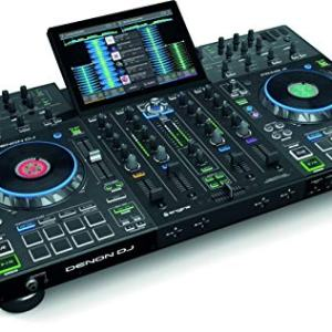 Denon DJ Prime 4 - 4 Deck Standalone DJ System/ Serato DJ Controller