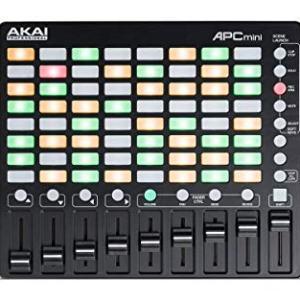 Akai Professional APC Mini | Compact USB Bus-Powered 64-Button Clip Launcher