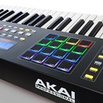 Akai Professional MPK261 | 61-Key Semi-Weighted USB MIDI Keyboard Controller Including Core Control From The MPC Workstations 1