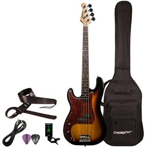 Sawtooth 4 String EP Series Electric Bass Guitar with Gig Bag & Accessories