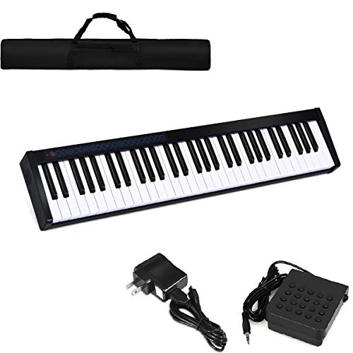 Costzon 61-Key Portable Weighted Key Digital Piano