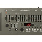 Roland SH-01A Sound Module with Integrated Arpeggiator, Sequencer Bundle with 4-Pack of AA Batteries and 5-Pack of Cable Ties 1