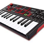 Akai Professional MPK Mini Play – Compact Keyboard and Pad Controller with Integrated Sound Module + Cable + 4-Port USB + Pack of Cable Ties 1