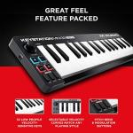 M Audio Keystation Mini 32 MK3 | Ultra Portable Mini USB MIDI Keyboard Controller With ProTools First | M Audio Edition and Xpand 2 by AIR Music Tech 1