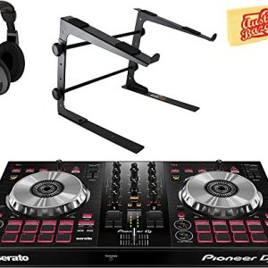 Pioneer DJ Controller for Serato DJ Lite Bundle with Stand