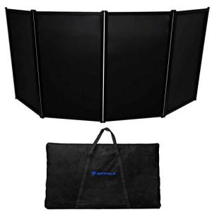 Rockville DJ Event Facade Light Weight Metal Frame Booth+Travel Bag
