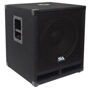 "Seismic Audio - Baby-Tremor - 15"" Pro Audio Subwoofer Cabinet"