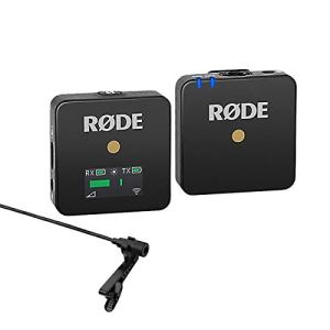Rode Wireless GO Compact Microphone System Includes Tansmitter and Receiver