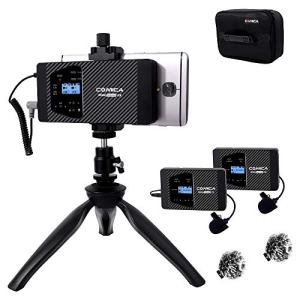 Wireless Lavalier Microphone Comica Combo 12-Channels Professional