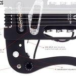 Traveler Guitar 6 String Pro-Series Mod-X (Matte Black), Right, (PSM BKM) 3