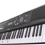 Yamaha EZ220 Keyboard with Lighted Keys – Includes X-Style Stand and Power Adapter 1