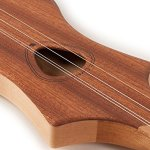 Seagull M4 Merlin Natural Mahogany Dulcimer with M4 Gig Bag (039098) 2