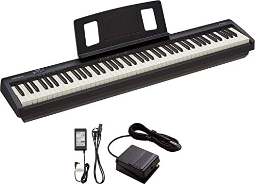 Roland 88-Key Entry-Level Digital Piano, Black