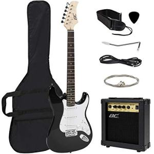Best Choice Products 39in Full Size Beginner Electric Guitar Starter Kit w/Case