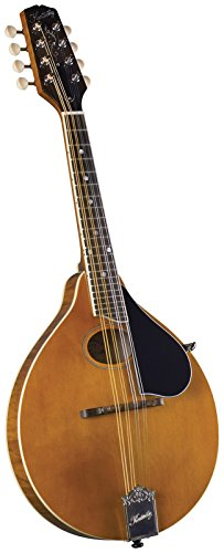 Kentucky Artist Oval Hole A-Style Mandolin - Transparent Amber
