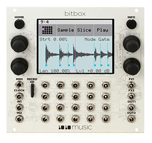 music Bitbox Eurorack Performance Sampler with Touchscreen