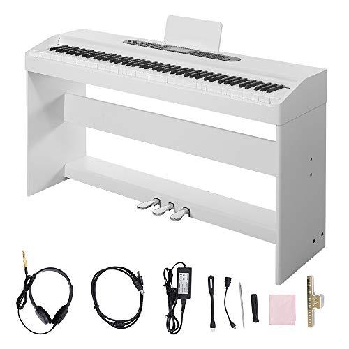 Digital Piano,Les Ailes de la Voix 88 Key Electric Piano Portable for Beginner Adults