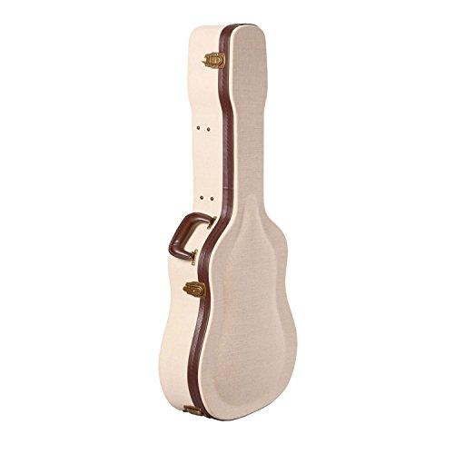 Gator Cases Journeyman Series Deluxe Wood Case for Acoustic Guitars (GW-JM-DREAD)