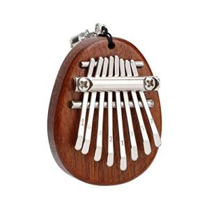Kalimba Mini Thumb Piano Solid Wood Finger Marimba