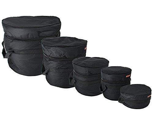 "Gearlux 5-Piece Drum Bag Set for 12"" Tom"