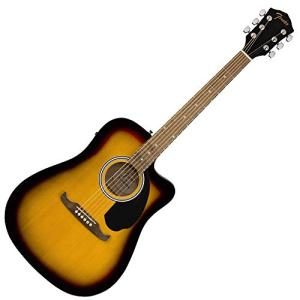 Dreadnought Cutaway Acoustic-Electric Guitar - Sunburst