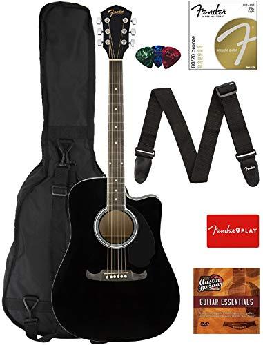 Fender Dreadnought Cutaway Acoustic-Electric Guitar -