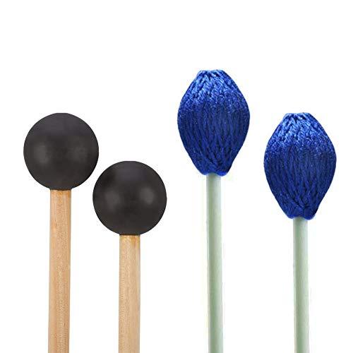 Pair Medium Hard Yarn Head Marimba Mallets