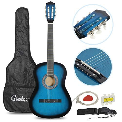 Acoustic Guitar for Starter Beginner Music Lovers Kids Gift