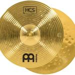 Cymbal Pair – HCS Traditional Finish Brass for Drum Set, Made In Germany