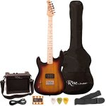 Rise by Sawtooth ST-RISE-ST-LH-SB-KIT-1 Electric Guitar Pack