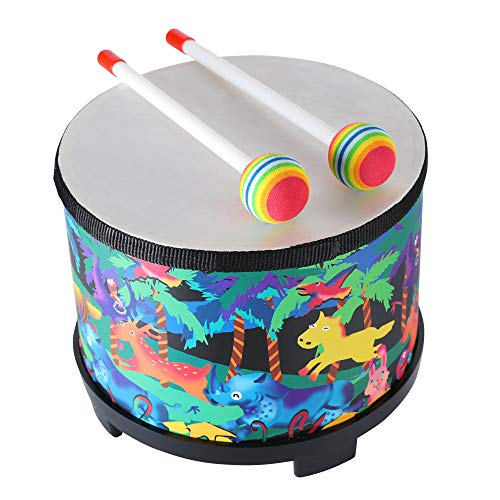 Floor Tom Drum for Kids 8 inch Montessori Percussion Instrument