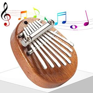 Portable Mini 8 Key Thumb Piano Marimba Mbira Kisanji