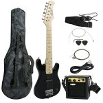 ZENY 30 inch Kids Electric Guitar with 5w Amp, Gig Bag