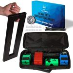 The Guitar Effect Pedal Board with Utility Bag Portable Black Guitar Pedalboard – Best for Mounting Your Pedals As You Want – Pedal Board and Pedal Case by J. Oskar music production