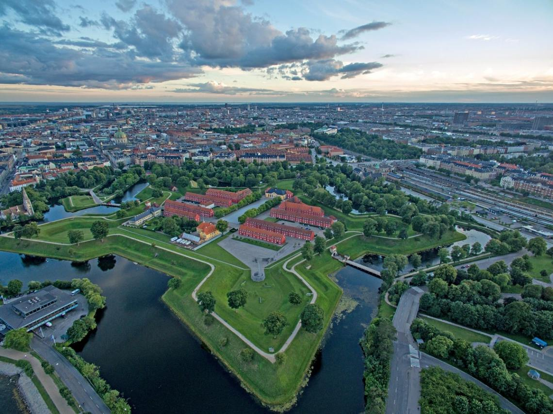 Kastellet in Copenhagen, Denmark