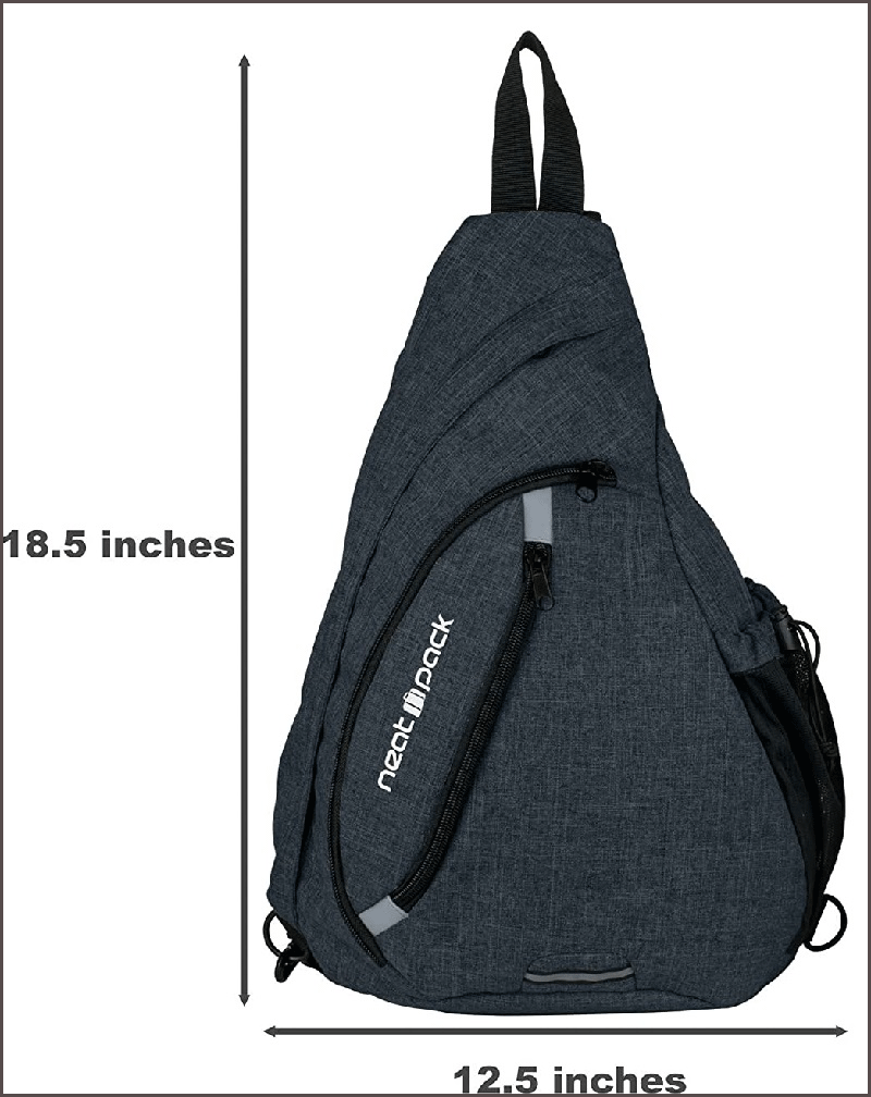 One Strap Backpack Versatile Canvas
