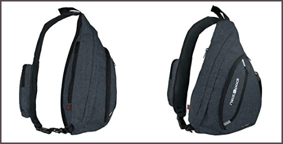 One Strap Backpack design comport