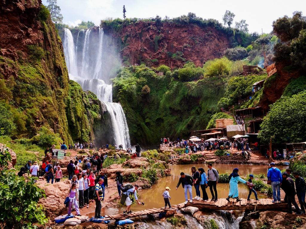 Ouzoud Waterfall of Morocco