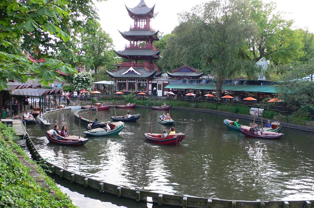 Tivoli Garden in Denmark