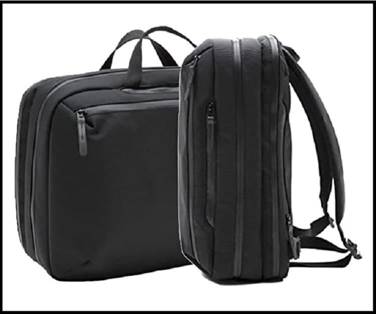 Everyman Hideout 5-Way Commuter Men's Laptop Bag for business travel
