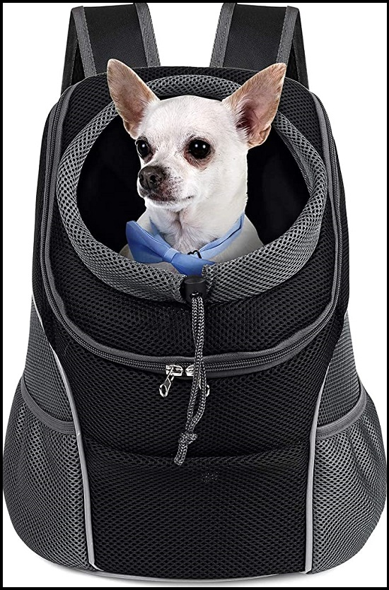 WOYYHO Pet Dog Carrier Backpack Puppy Dog Travel Carrier